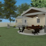 Outdoor Living Space in Union County NJ CAD (6)-Design Build Planners
