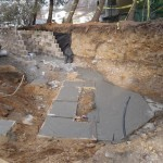 Z progress pix for an outdoor living space - Design Build Planners (1)