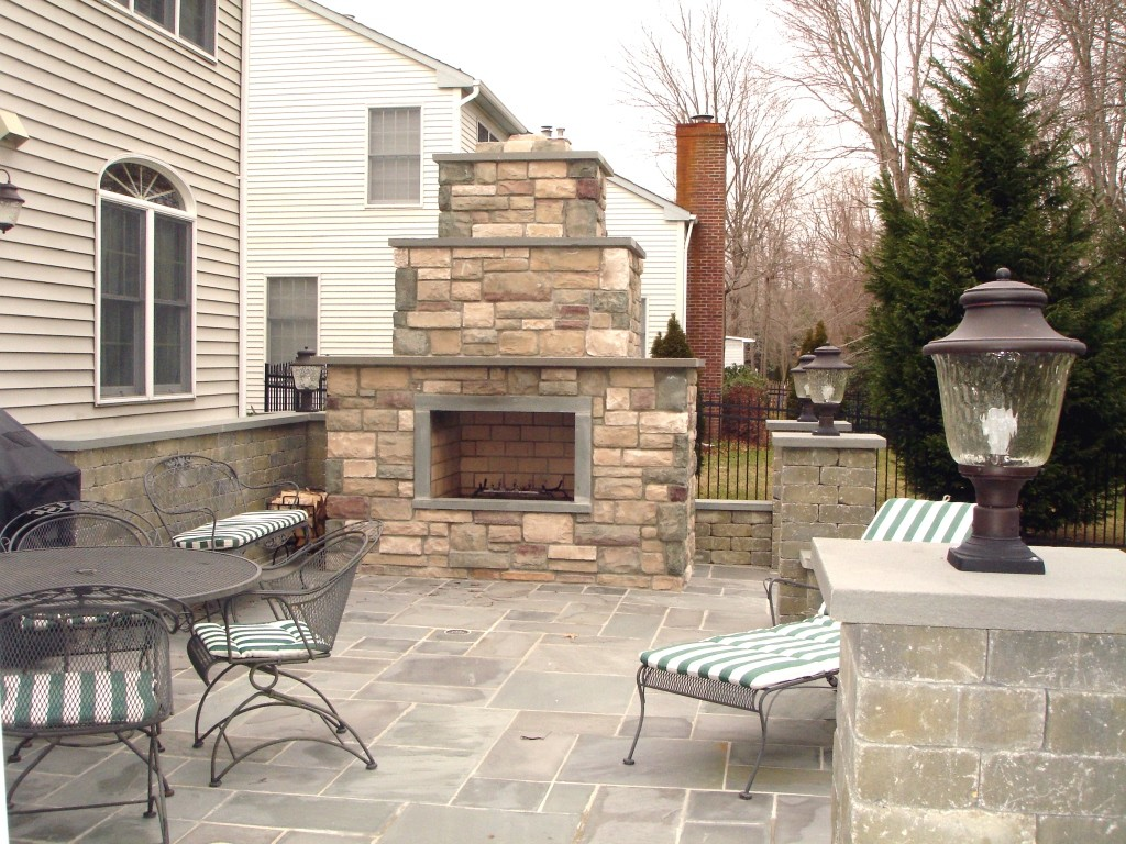 Custom Stone Fireplaces From Design Build Pros 1