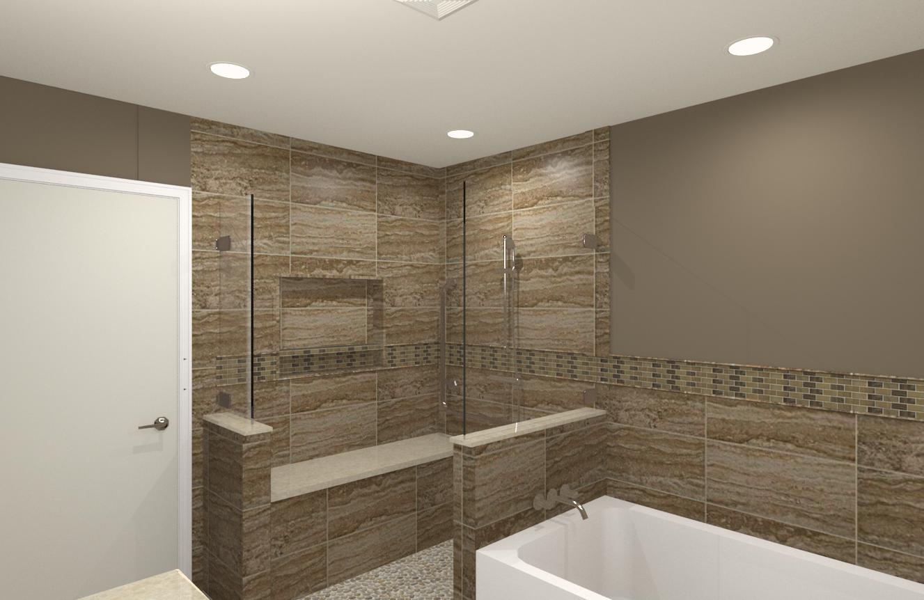 CAD Of Master Suite In Essex County NJ 3 Design Build Pros