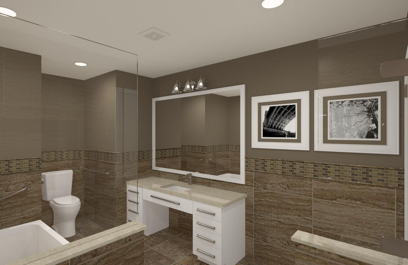 CAD Of Master Suite In Essex County NJ 4 Design Build Pros