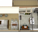 Dollhouse Overview of Kitchen Plan 3 (1)-Design Build Planners