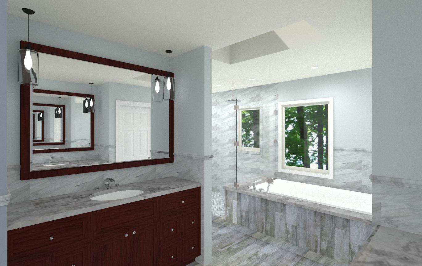 Master bedroom and bathroom designs in bridgewater nj design build pros - Bathroom design nj ...