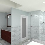 Master Bedroom and Bathroom in Bridgewater NJ CAD (14)-Design Build Planners