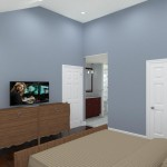 Master Bedroom and Bathroom in Bridgewater NJ CAD (2)-Design Build Planners