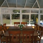 sunroom conservatory as eating area of kitchen in Monmouth County, NJ (3)