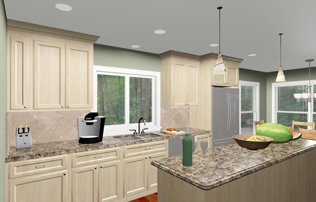 kitchen designs for colonial homes colonial style home kitchen remodeling design options and 542
