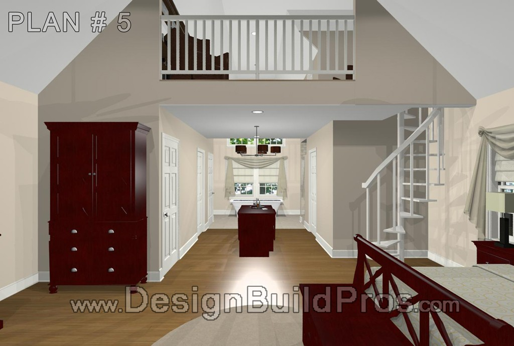 Master Bedroom Suite Over Three Car Garage Plus Front Porch In Maryland