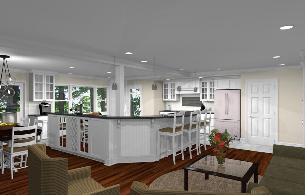 kitchen remodeling floor plans kitchen remodeling design with open floor plan in watchung 5570