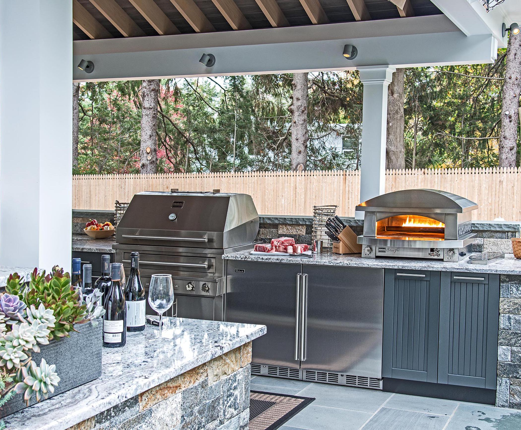 Outdoor Kitchen for Your Patio - Design Build Planners on Patio Kitchen Designs id=38540