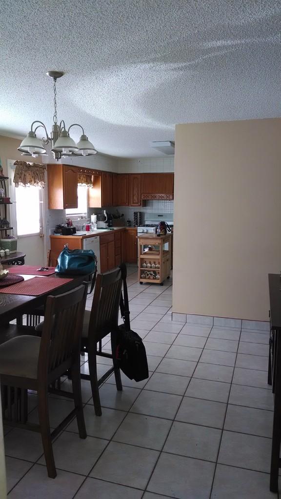 Existing Kitchen Remodel In Brick Nj