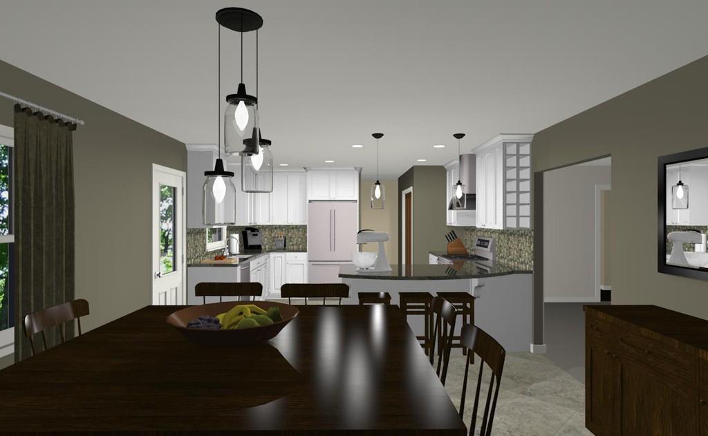 Existing Kitchen Remodel In Brick Nj 1