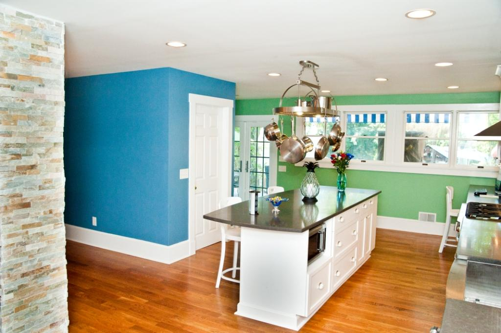 How To Paint A Room Two Different Colors Paint Color To