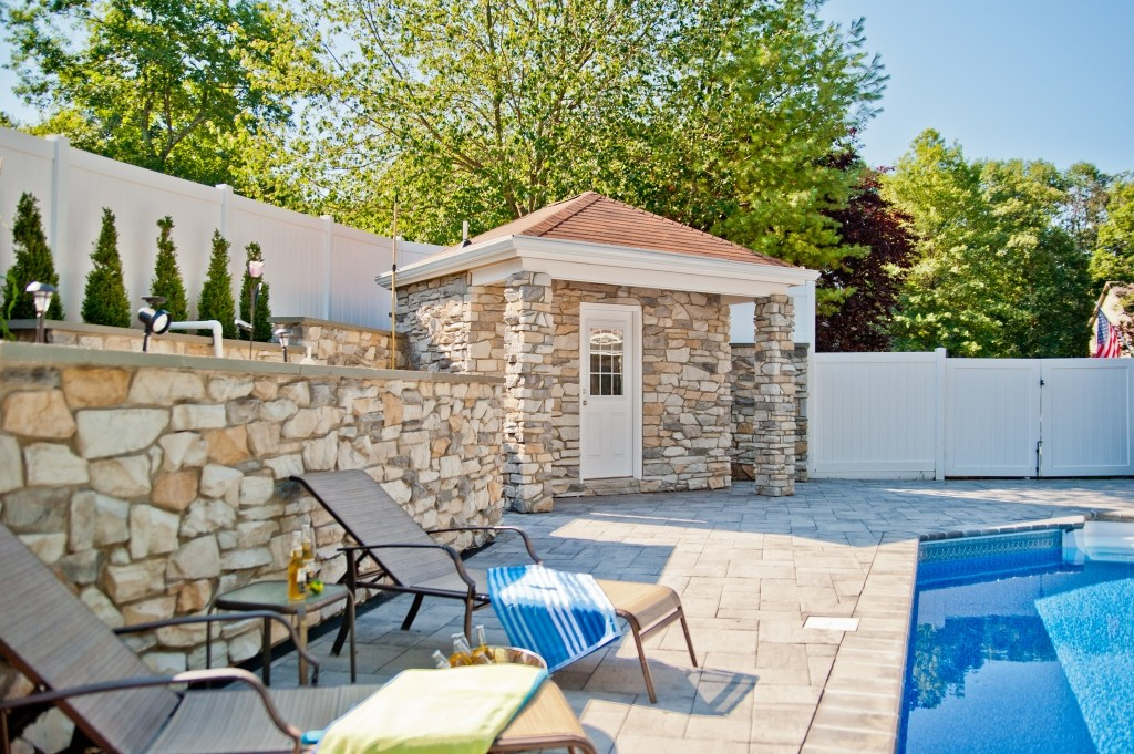 pool house plans with bathroom pool house and bathroom in new jersey 25490